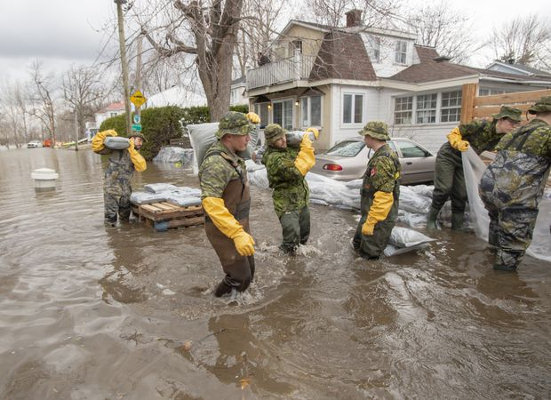 Eastern Canada braces for the worst as Ottawa declares a state of emergency due to flooding