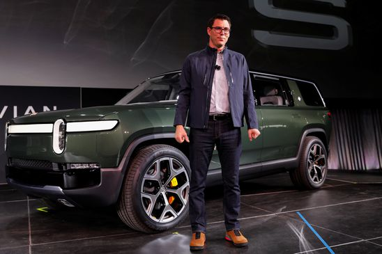 All-electric pickups and SUVs are coming, and Rivian wants to be first out of the gate