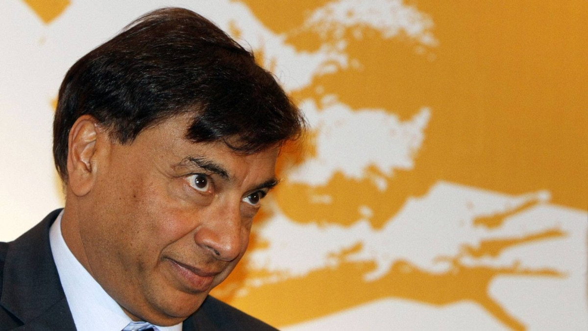 Lakshmi Mittal, chairman and CEO of ArcelorMittal looks on in this 2008 file photo.