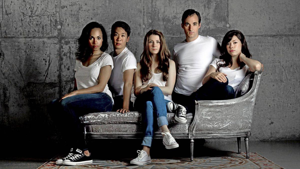 From left, Cara Ricketts, Kevin Yee, Amy Wallis, Tyrone Savage and Jennifer Rider-Shaw.