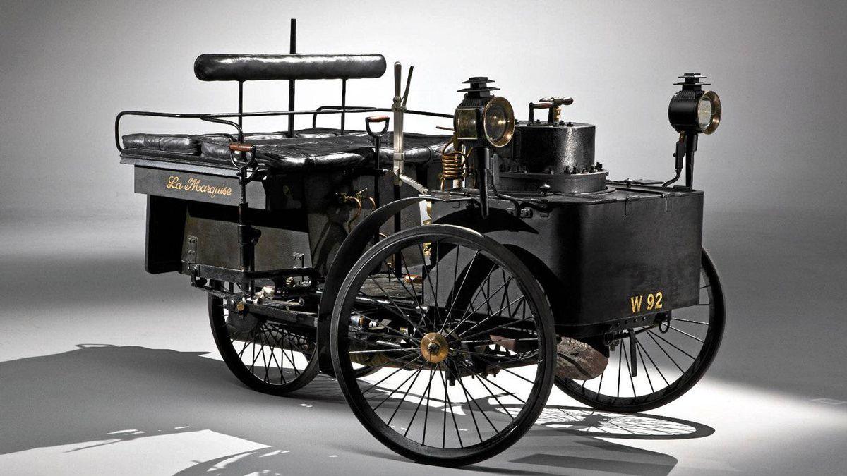 18884 De Dion Steam Runabout