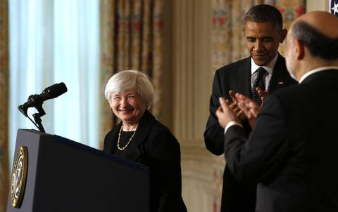 Yellen signals more Fed stimulus