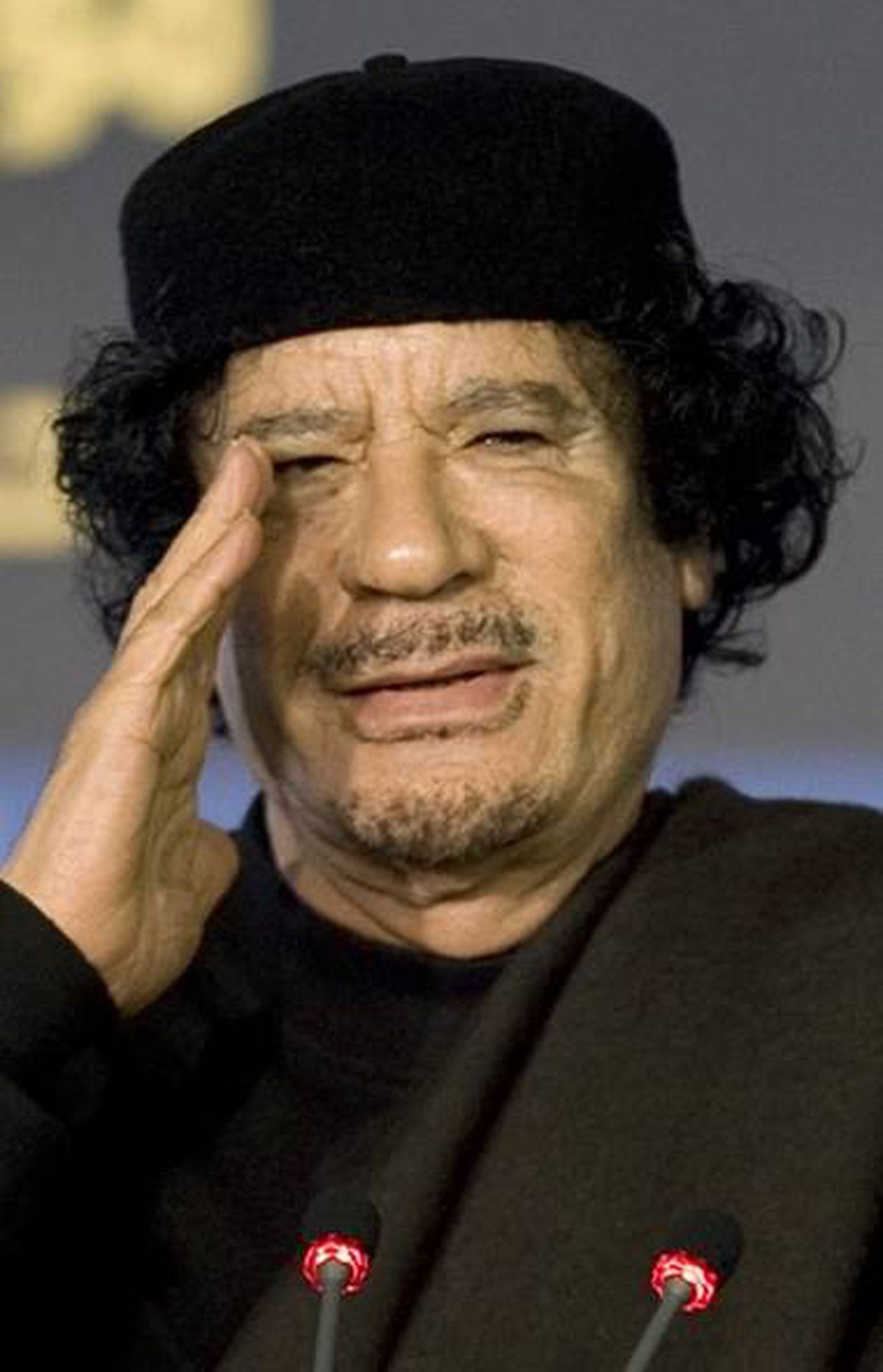 LIBYA: Libyan leader Moammar Gadhafi was described as erratic and in the near constant company of a Ukrainian nurse who was described in one cable as 'a voluptuous blonde,' according to the New York Times.