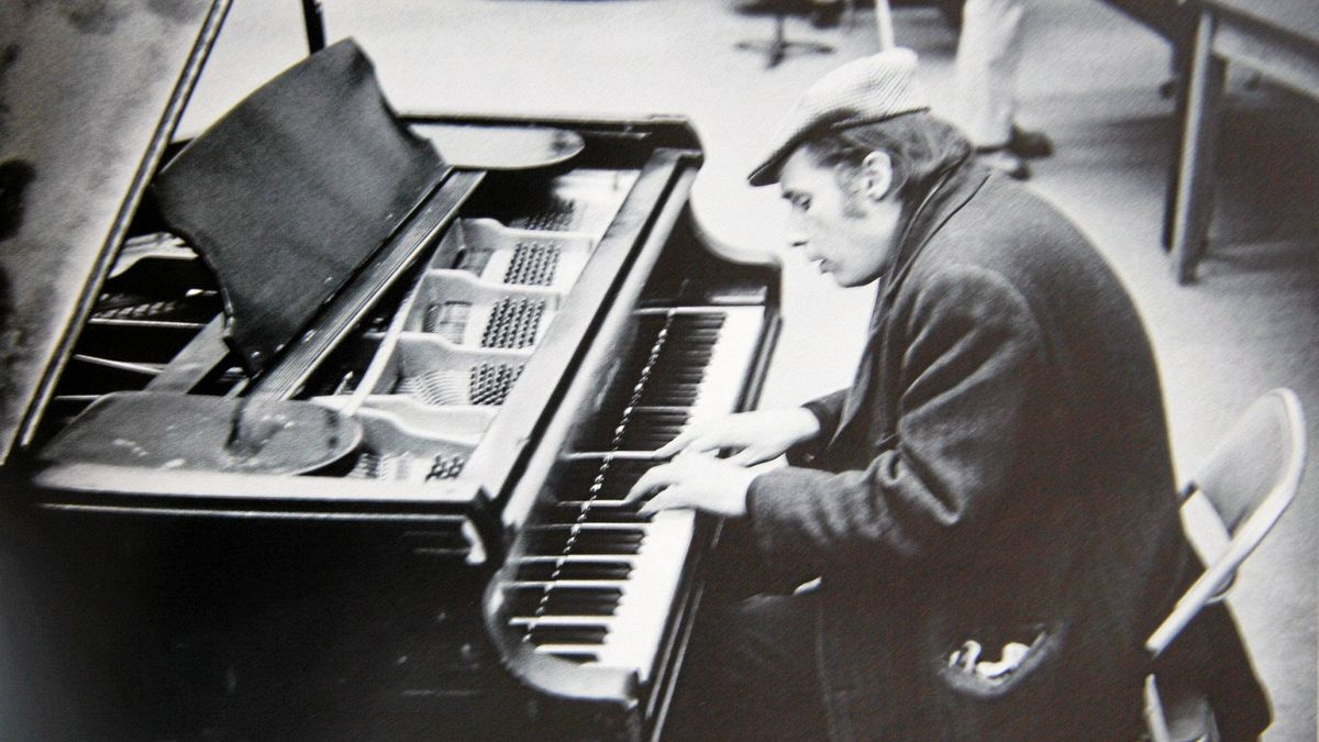 Glenn Gould performing at CBC studios in Toronto in 1974.