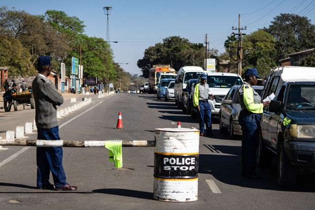 Police, soldiers patrol Zimbabwe's Bulawayo as opposition protest thwarted