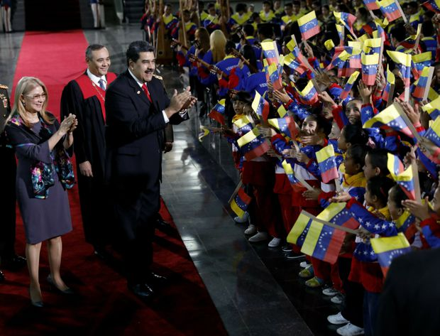 Nicolas Maduro sworn in to 2nd term amid Venezuela's economic crisis