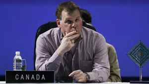 Foreign Minister John Baird at the G20 foreign ministers summit in Los Cabos, Mexico, Sunday, Feb. 19, 2012.
