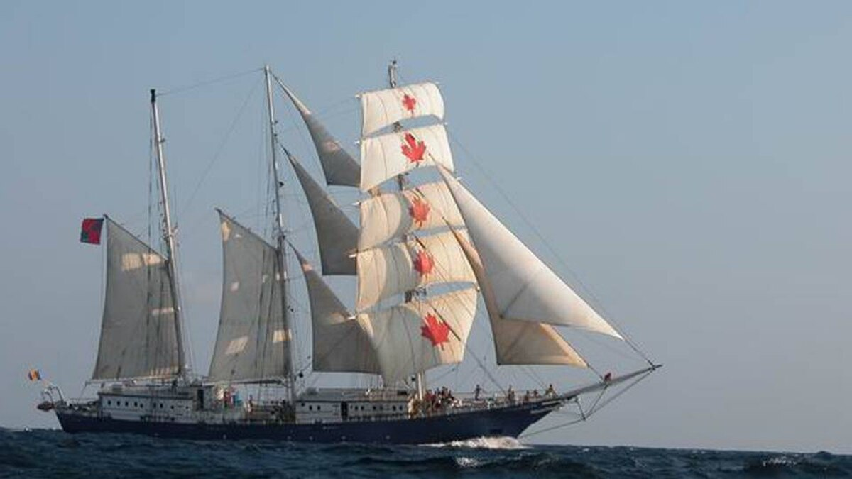 The S.V. Concordia, from the website of West Island College International