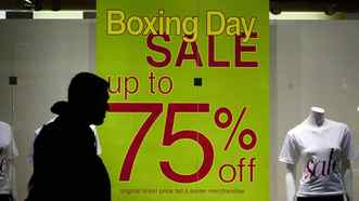 Aggressive Boxing Day marketing, combined with a bad economy, is prompting holiday shoppers to violence, psychologists suggest.