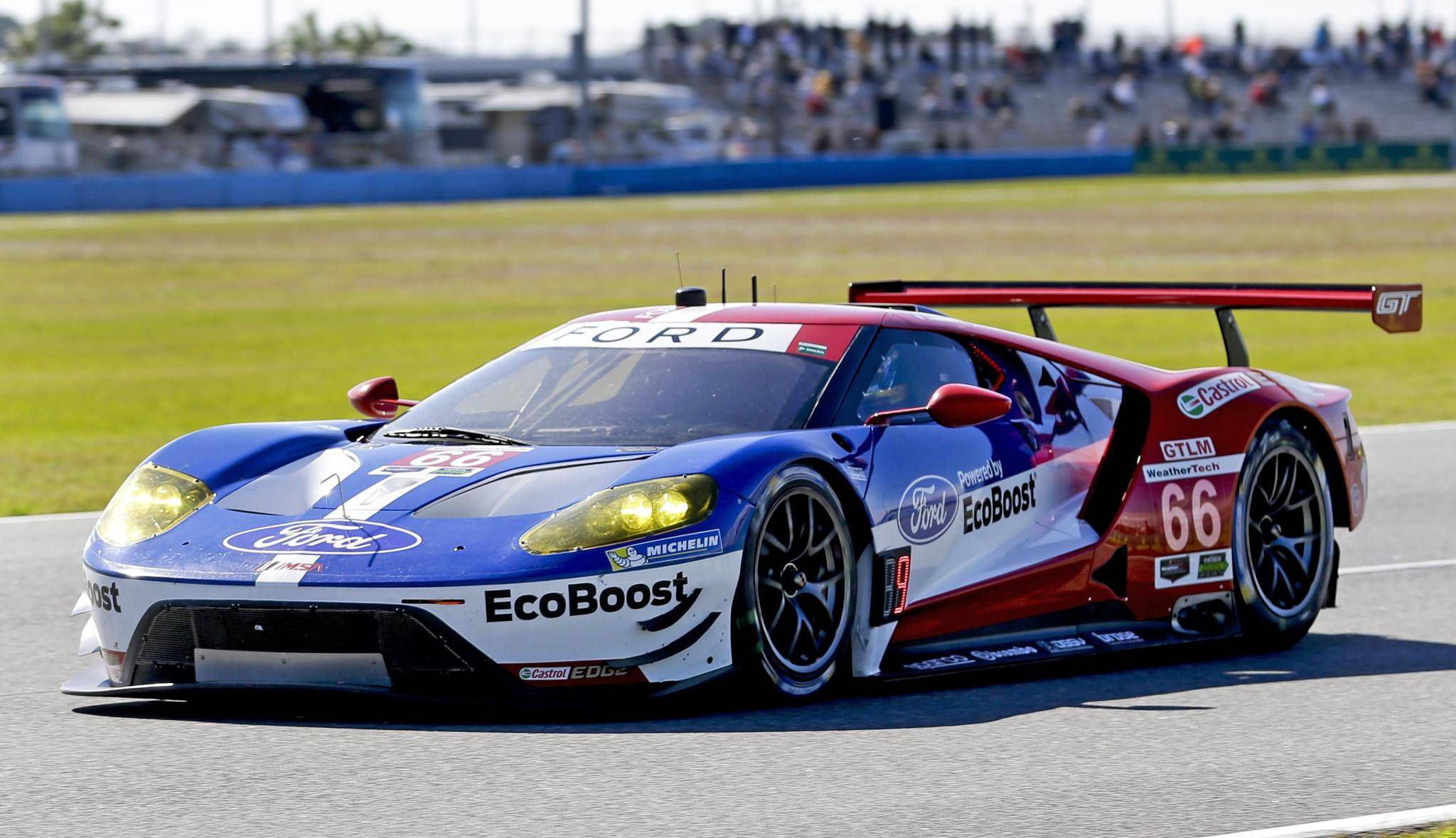 Ford Gt Falters In Race Debut Sets Sights On Repeating History In Lemans