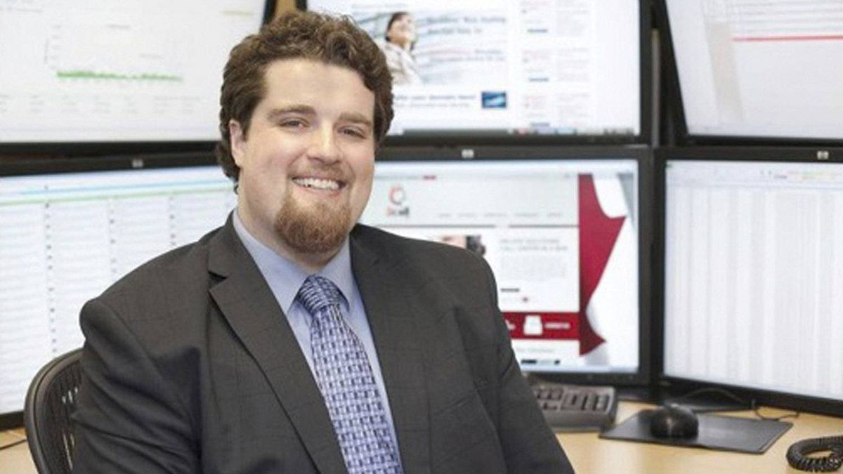 Matt Meier, president and chief executive of RackNine Inc., is shown in an undated image from his company website.
