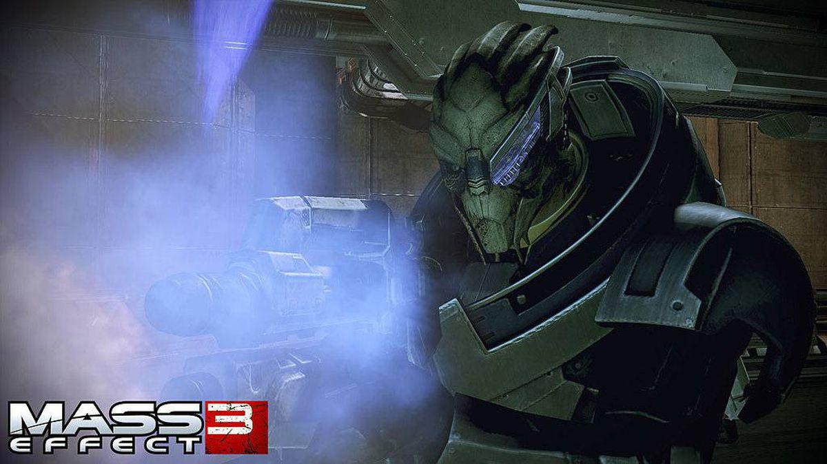 A screenshot handout from BioWare?s upcoming Mass Effect 3