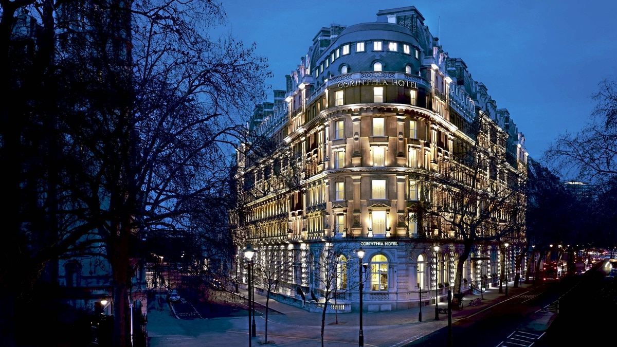 The Corinthia Hotel is welll-located in London.