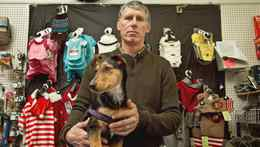 Robert Rodger, owner of a Pet Valu franchise in Aurora, Ont.
