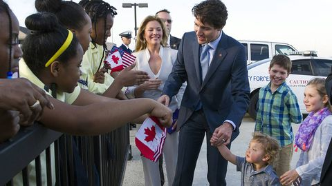 Why the U.S. press corps can't get enough of Canada's Prime Minister