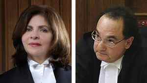 Composite image of Madam Justice Andromake Karakatsanis and Mr. Justice Michael Moldaver.