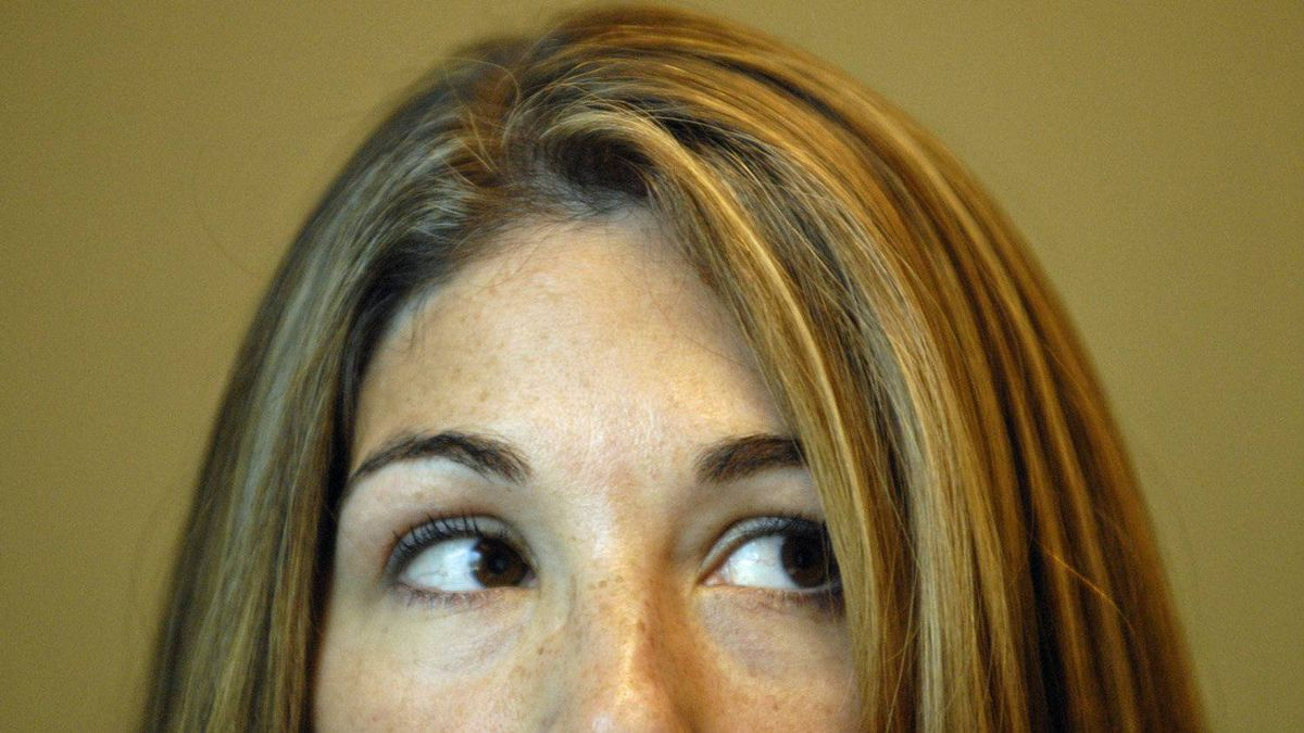 Naomi Klein is photographed at her publisher's office in Toronto prior to the release of her 2007 book The Shock Doctrine: The Rise of Disaster Capitalism.