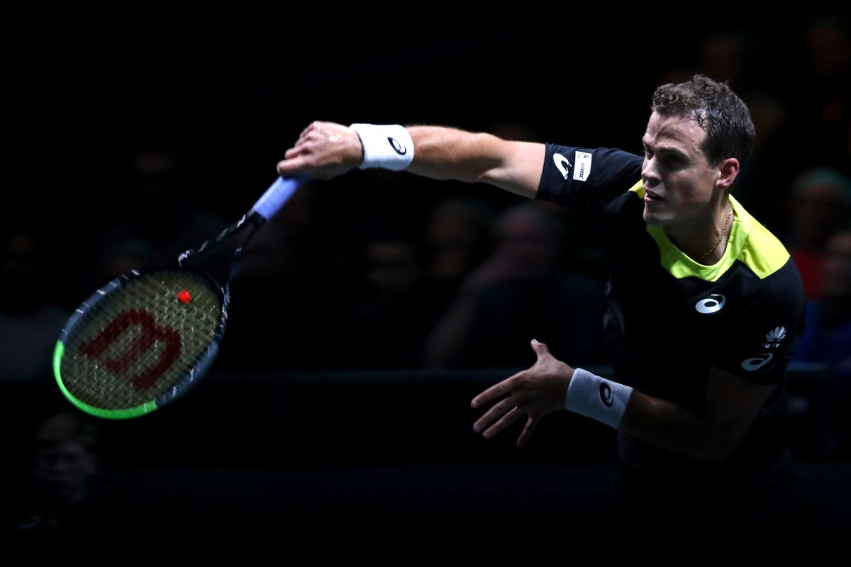 Vasek Pospisil advances to quarter-finals of Open 13 Provence tournament