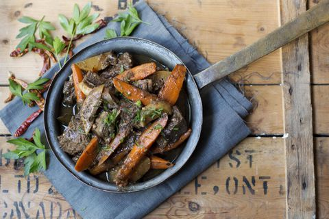 Recipe: Lively beef stew with root vegetables