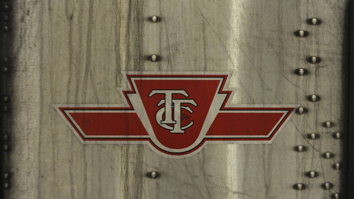 The TTC logo, photographed Jan. 25 2011.