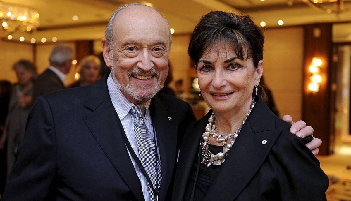 Donald Carr and Judy Feld Carr, CM Toronto Jewish Film Festival VIP Gala Night