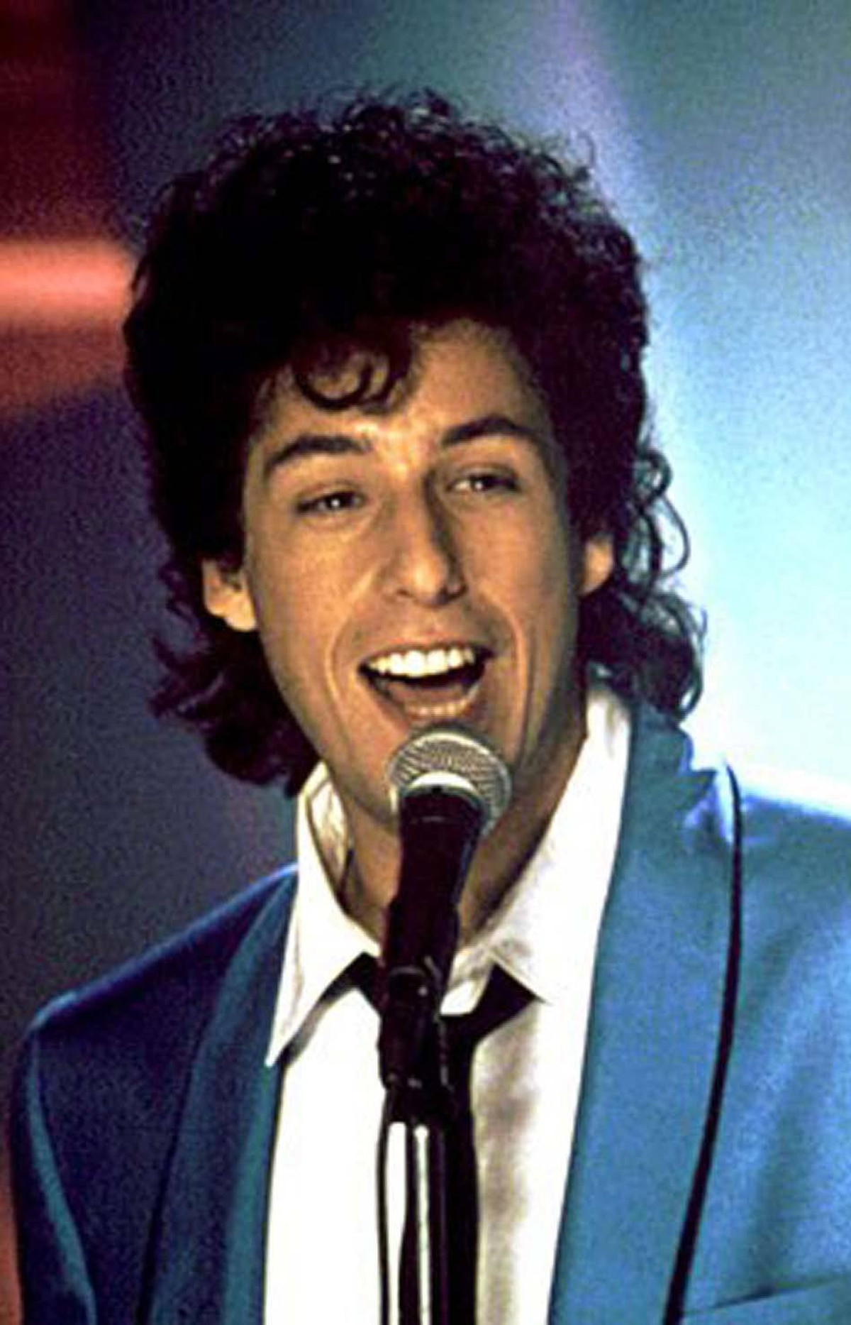 MOVIE The Wedding Singer MuchMusic, 10 p.m. Despite his tendency toward the low-brow, Adam Sandler essays a touching and believable character in this 1998 romantic-comedy, which was turned into a successful Broadway musical. Set in the glittery mid-eighties, the story casts Sandler as the professional singer Robbie Hart, whose band specializes in weddings (and occasionally bar mitzvahs). Robbie is bereft when dumped by his tarty girlfriend Linda (Angela Featherstone), but intrigued when he meets the sweet waitress Julia (Drew Barrymore). The bad news: Julia is already engaged to a yuppie jerk who is cheating on her at every opportunity. Watch for cameos by Jon Lovitz, Steve Buscemi and, as himself, eighties rock icon Billy Idol.