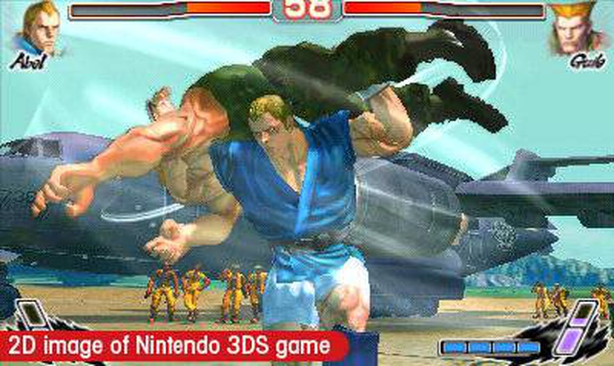 Super Street Fighter IV: 3D Edition: Capcom?s popular side-scrolling fighter ? originally released for much more powerful platforms like Xbox 360 ? looks great on the 3DS, though it?s another case of a game that doesn?t really need to be viewed in 3-D.