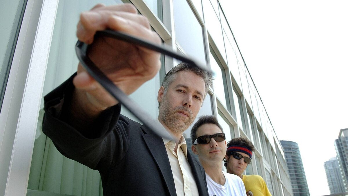 "Beastie Boys Adam ""MCA"" Yauch, left, Adam ""Adrock"" Horovitz, centre, and Mike ""Mike D"" Diamond pose for a photograph in Toronto Wednesday, July 26, 2006."