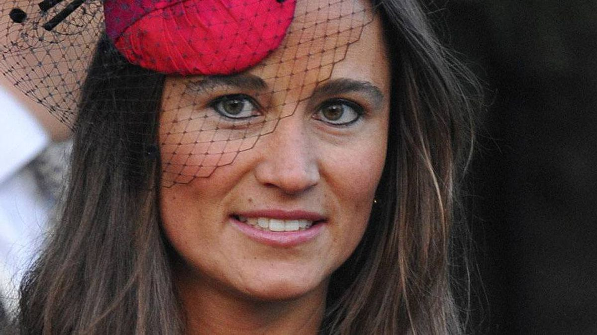 Pippa Middleton, sister of the Duchess of Cambridge, attends the wedding of Katie Percy and Patrick Valentine at Alnwick Castle in Alnwick, northeast England in this February 26, 2011 file photo.