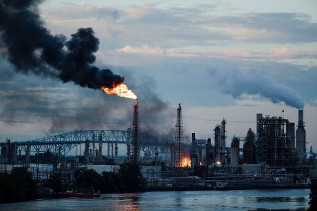 Largest oil refinery on East Coast to close permanently after fire