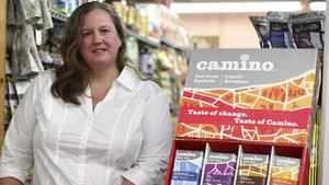 Jennifer Williams, chief executive officer of La Siembra Co-operative Inc., creator of Camino line of premium fair trade and organic chocolate bars