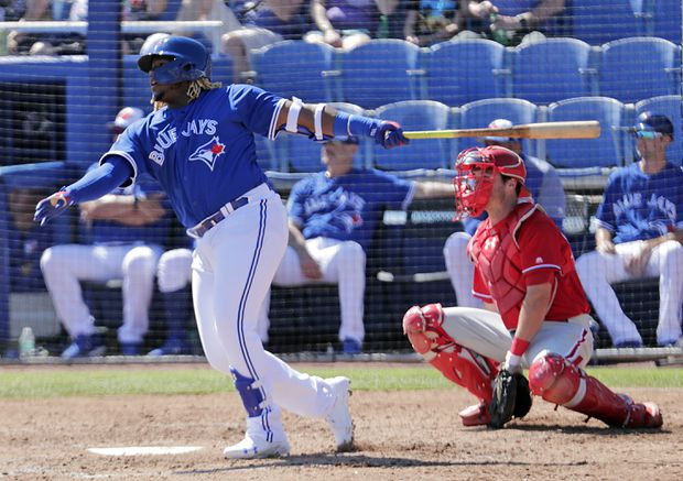 At long last, Vladimir Guerrero Jr. is set to make his majors debut with the Blue Jays