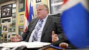 "Critics are calling Toronto Mayor Rob Ford's bargaining position in contract talks ""extreme."""