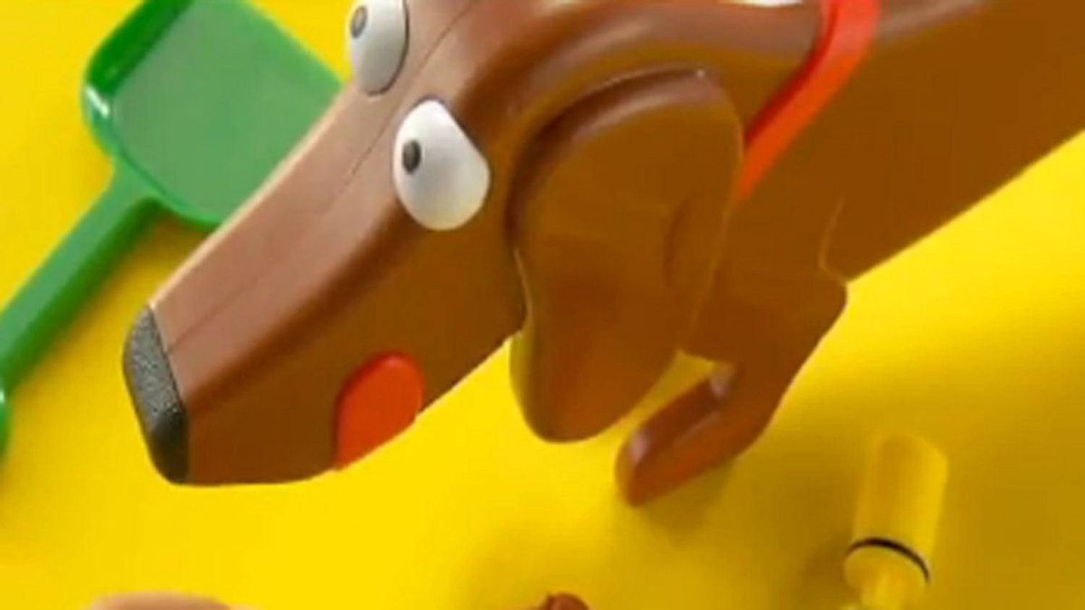 The Doggie Doo game is a hot new toy for kids.