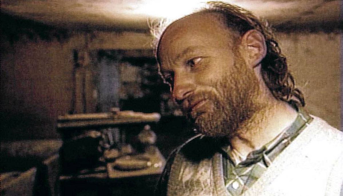 Robert William Pickton, 52, shown here in a picture taken from TV.