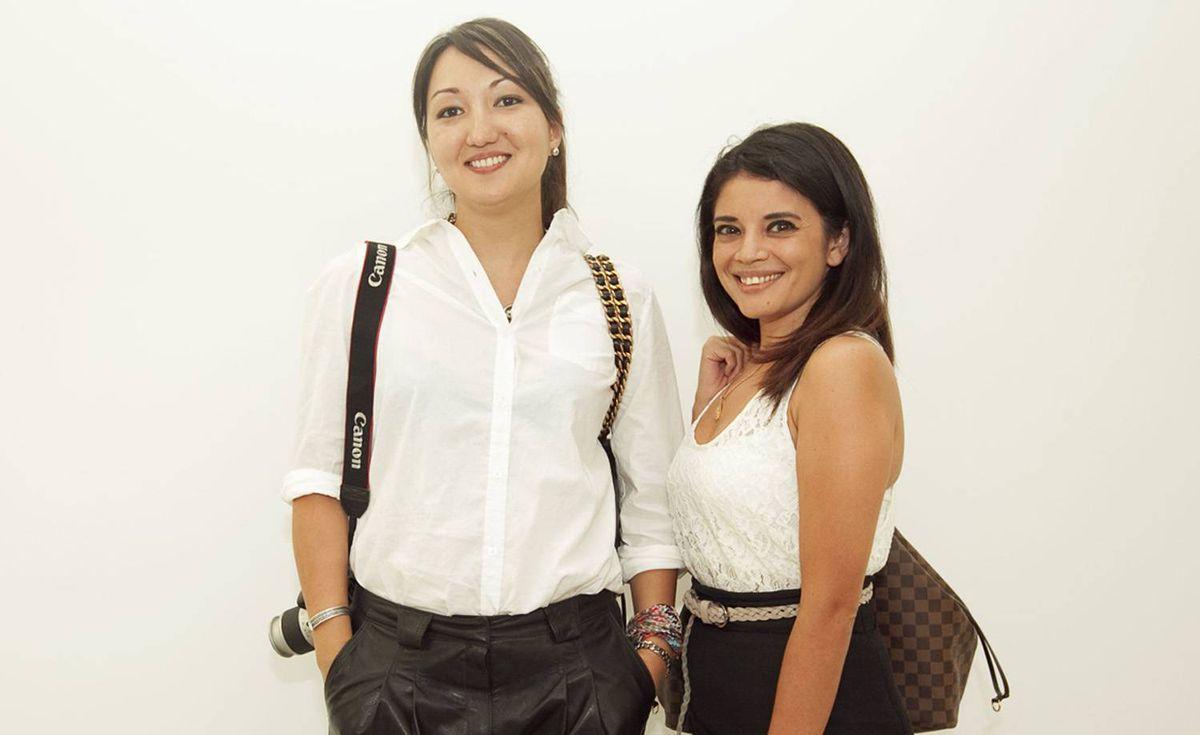 Nelia Belkova (left) and Citlally Maciel