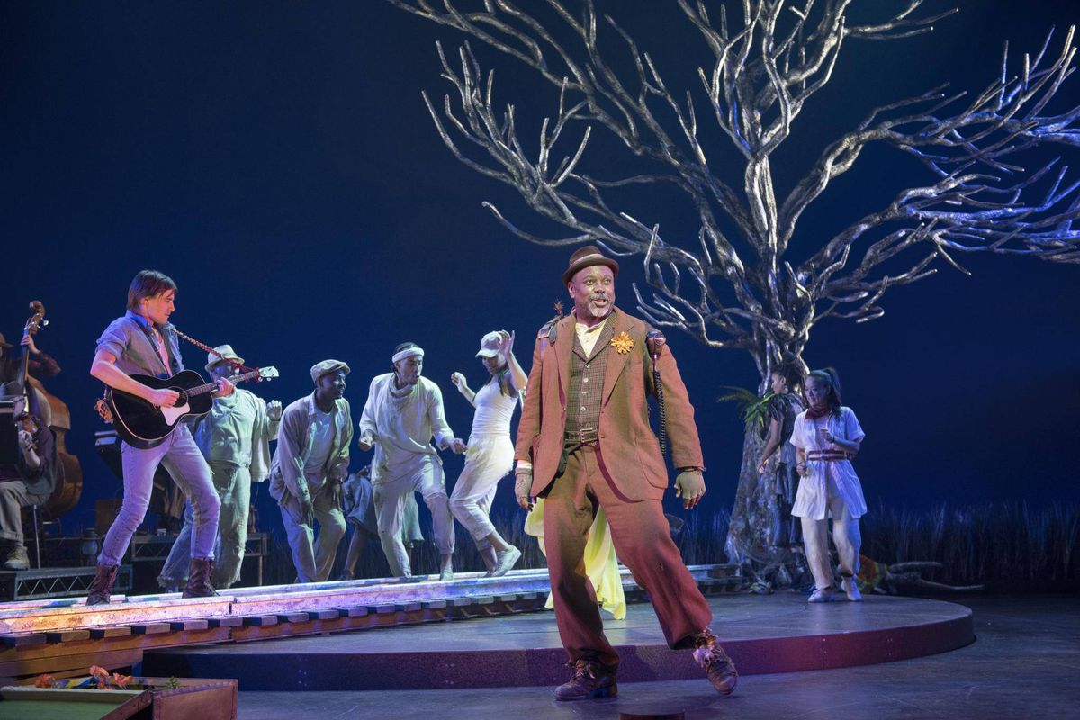 Review: Hadestown warms up in Edmonton but isn't ready for ...