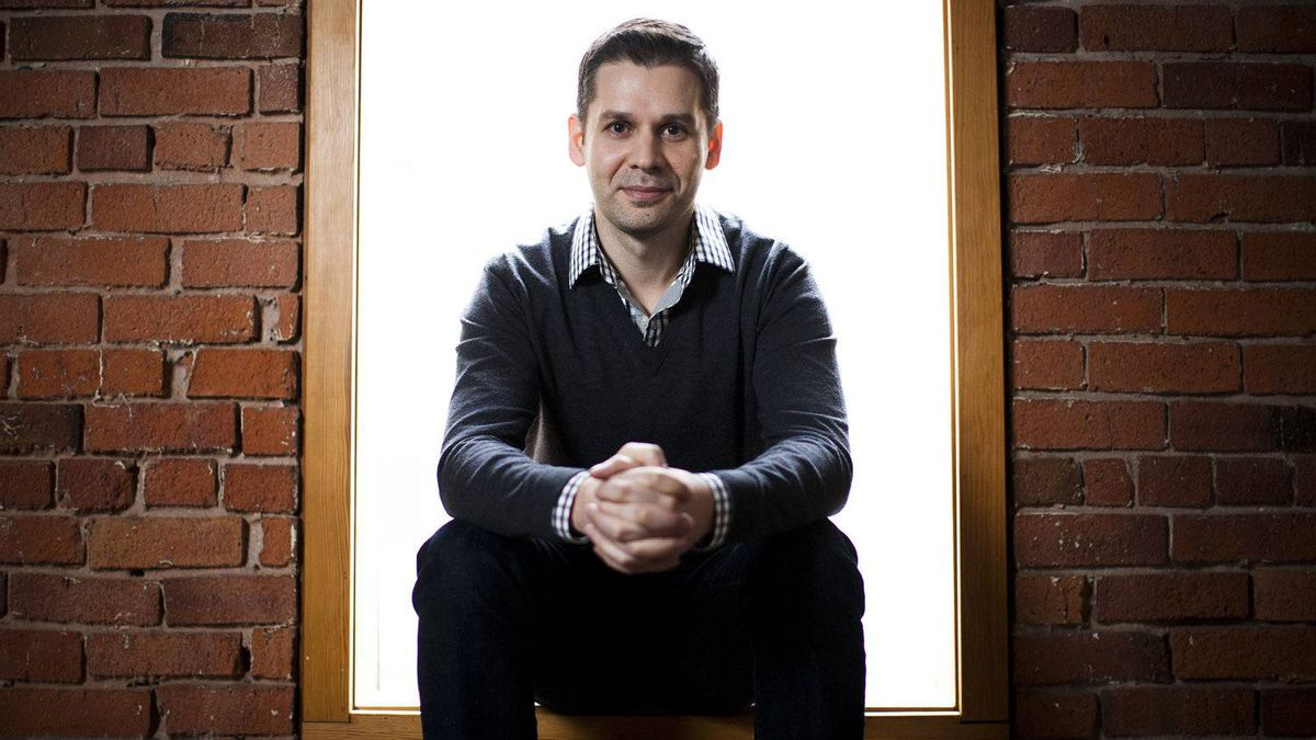Daniel Mirkovic, co-founder, president and chief executive officer of Square One Insurance Services Inc., poses for a portrait at his office in Vancouver, British Columbia, Monday, January 30, 2012. Rafal Gerszak for The Globe and Mail