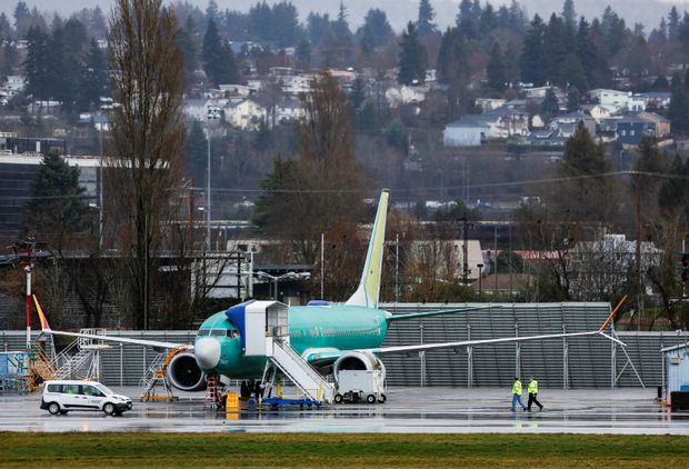 Boeing expects 737 Max to stay grounded until mid