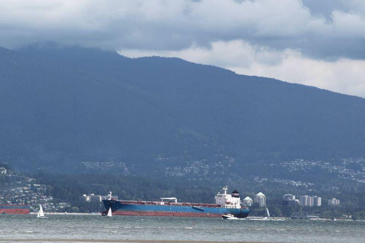 Burrard Inlet in Vancouver