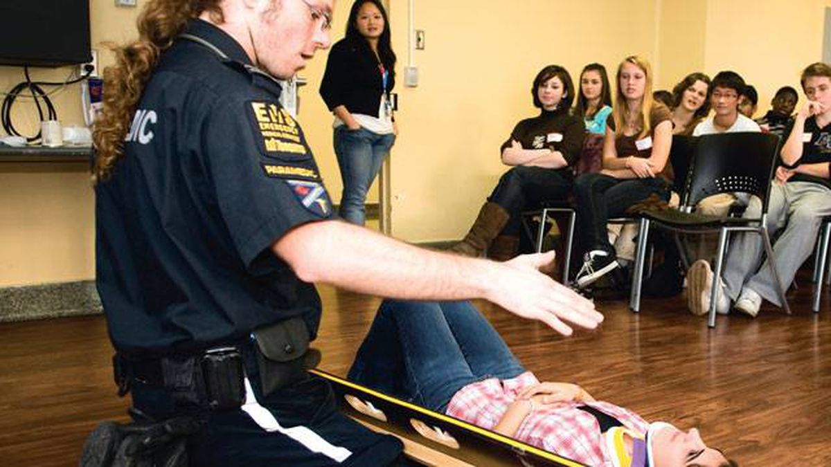 Paramedics and other first repsonse deliver a dose of reality to P.A.R.T.Y. teens by sharing tales from the front lines.