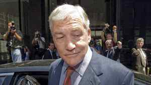 Conrad Black is shown leaving Federal Court on July 23, 2010, in Chicago.