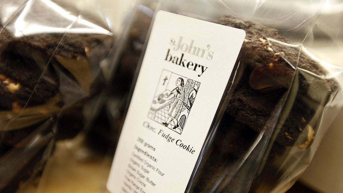 Cookies packaged for sale at St. John's Bakery in Toronto. Owned and operated by St. John's The Compassionate Mission, it is one of 150 for-profit and non-profit social ventures to spring up in the city, half of them in the last five years.