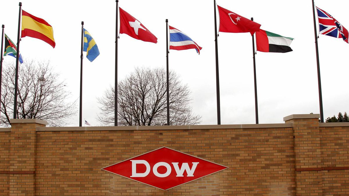 Dow Chemical headquarters in Midland, Mich.