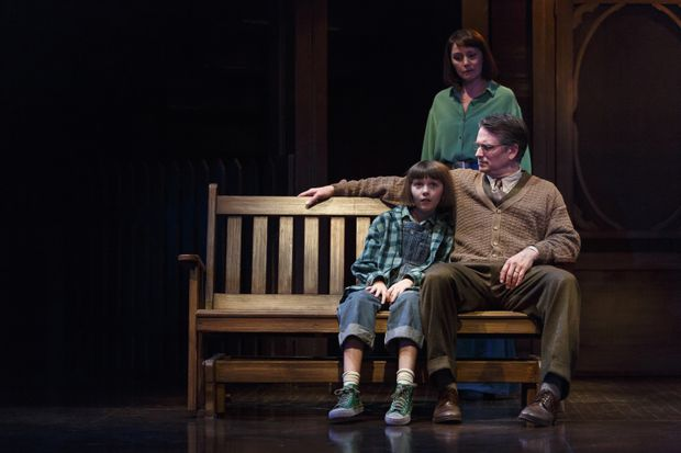 Clockwise From Top Irene Poole As Jean Louise Finch Jonathan Goad Atticus And Clara Poppy Kushnir Scout In To Kill A Mockingbird