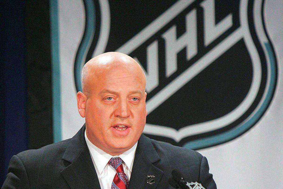 NHL deputy commissioner Bill Daly