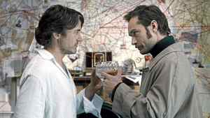 "Robert Downey Jr. (left) and Jude Law as Holmes and Watson in a scene from ""Sherlock Holmes: A Game of Shadows"""