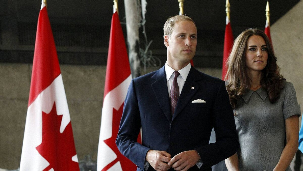 Prince William and his wife Catherine, Duchess of Cambridge, arrive to a reception at the Canadian War Museum in Ottawa July 2, 2011.