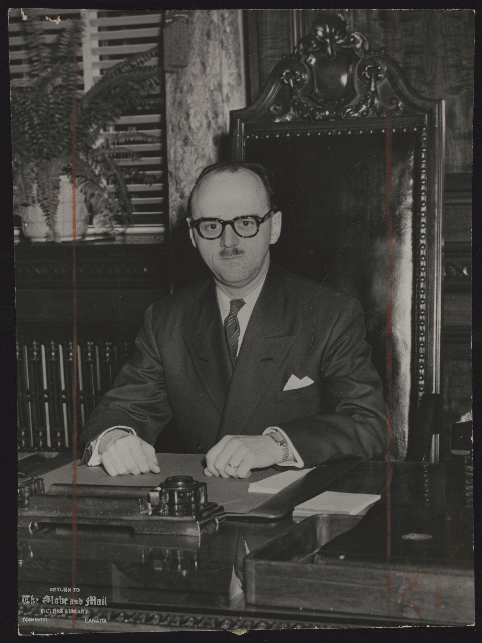 DRAPEAU (Mayor) Jean Montreal