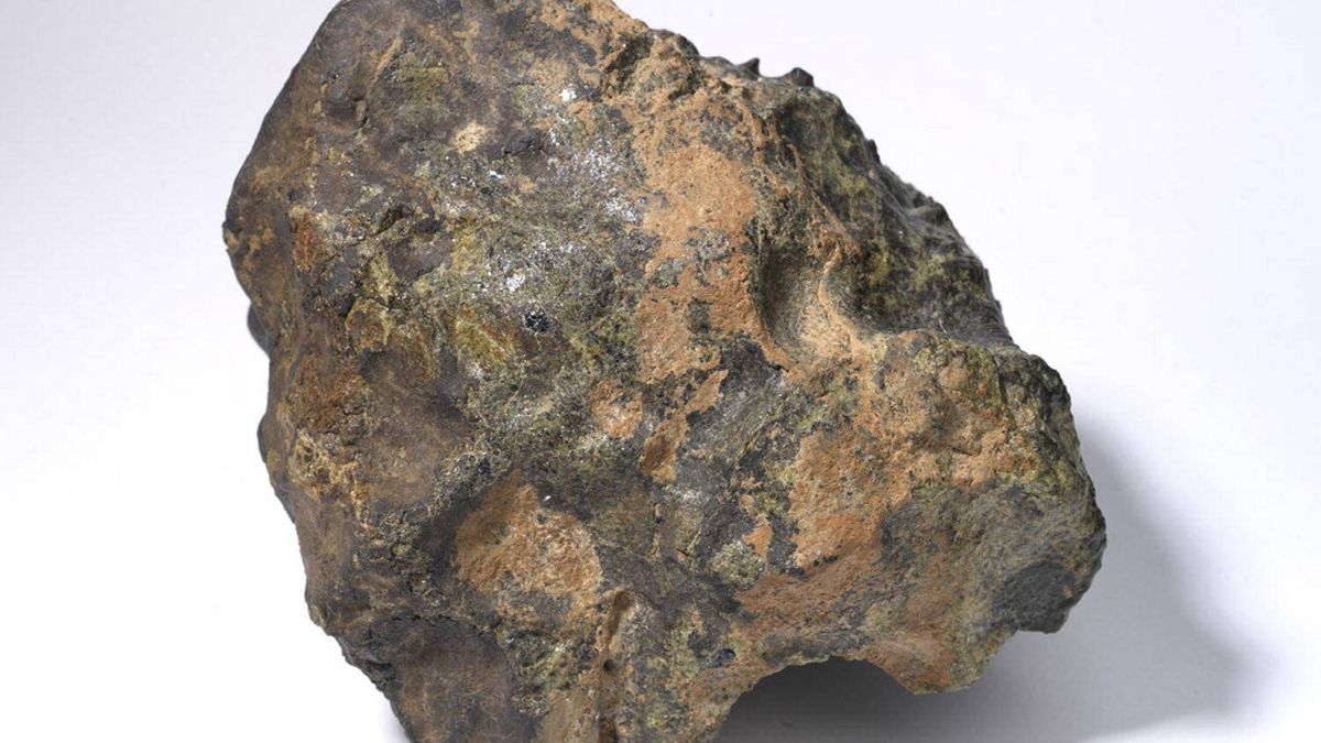 Meteorite hunters can look for a piece of space rock similar to this. Researchers at the ROM and University of Western Ontario are asking the public's help to find fragments of meteoric fireball that was seen in the southern Ontario sky Monday evening.